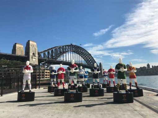 Rugby League World Cup 2017 – Player Lanterns