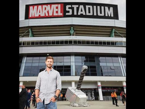 Thor Hammer Detail – Marvel Stadium